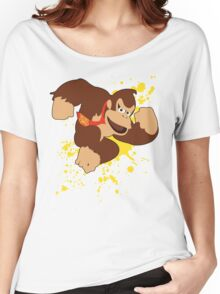 Donkey Kong (DK) - Super Smash Bros Women's Relaxed Fit T-Shirt