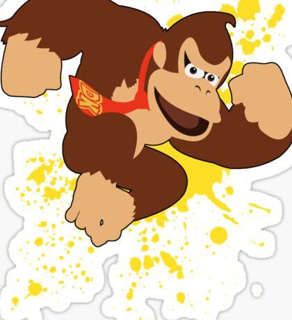 Donkey Kong (DK) - Super Smash Bros Sticker