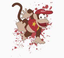 Diddy Kong- Super Smash Bros by PrincessCatanna