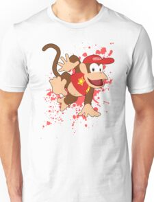 Diddy Kong- Super Smash Bros Unisex T-Shirt