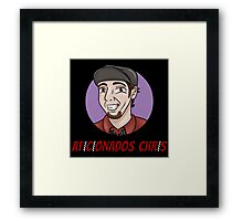 Aficionados Chris Logo Framed Print