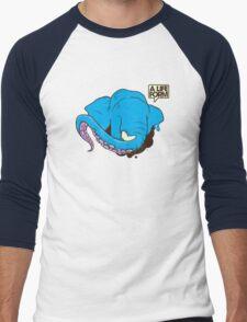 Lifeform Men's Baseball ¾ T-Shirt
