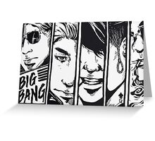BIG Bang Made Album Greeting Card