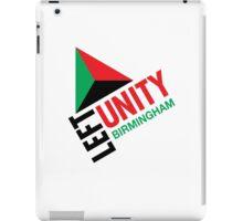 Left Unity Birmingham iPad Case/Skin