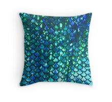 Mermaid Scales v1.0 Throw Pillow