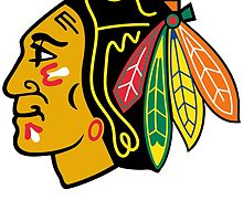 CHICAGO BLACKHAWKS by teeshoppy