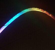 Close up Millenium Bridge by loubylou2209