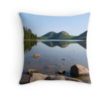Summer Scene, Jordan Pond Throw Pillow