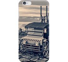 Retro Steam Cab-Taxi iPhone Case/Skin