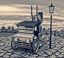 Retro Steam Cab-Taxi by Vac1