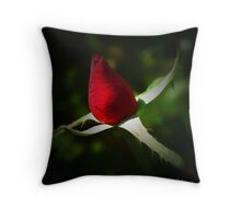 BUDDY RED Throw Pillow
