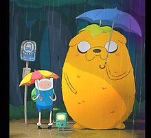 Adventure Time - Totoro Version  by zetsuennoadams