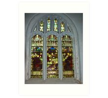 Window #4 St Peter's Church Art Print