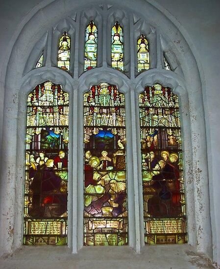 Window #4 St Peter's Church by Trevor Kersley