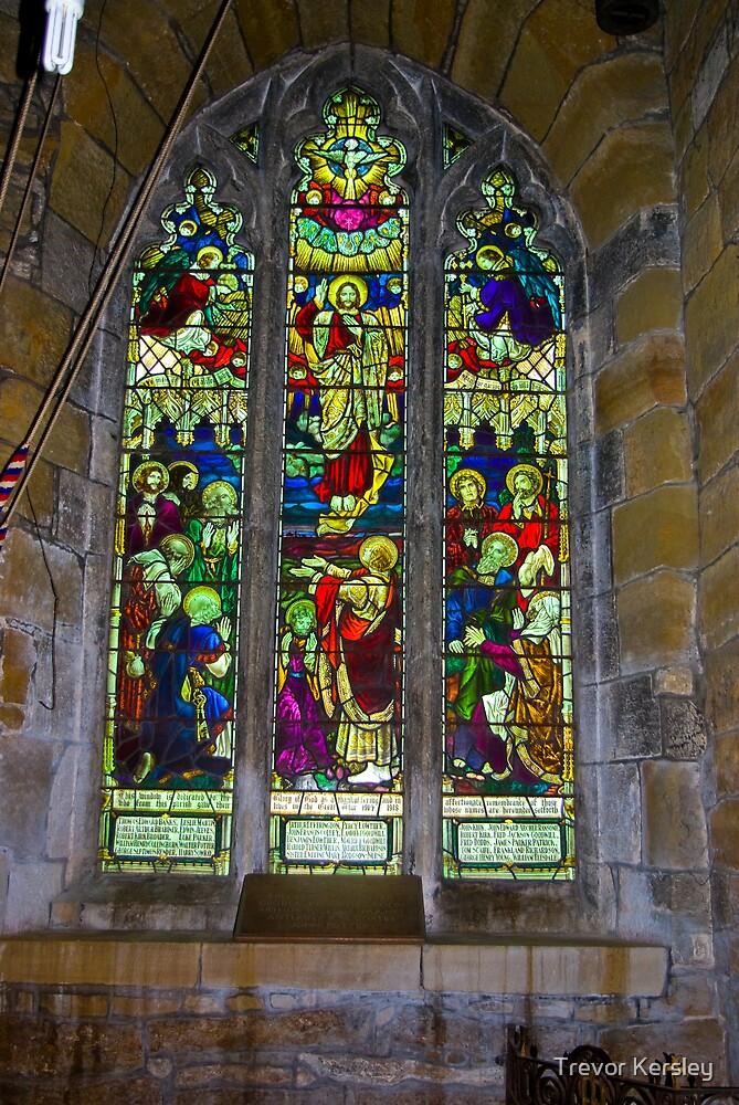 Window #5 St Peter's Church by Trevor Kersley