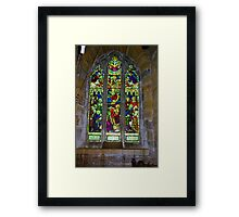 Window #5 St Peter's Church Framed Print