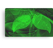 Think Green-Art + Design products Canvas Print