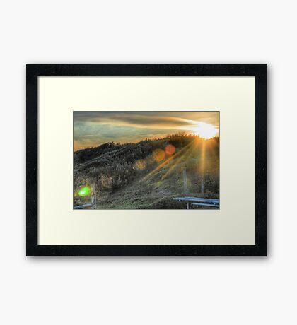 Torquay Dream HDR Framed Print