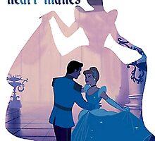 Cinderella love by MonaLisaArt