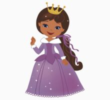 African American  Beautiful Princess Kids Clothes