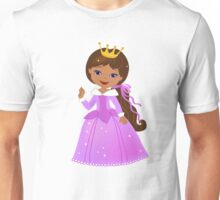 African American  Beautiful Princess Unisex T-Shirt