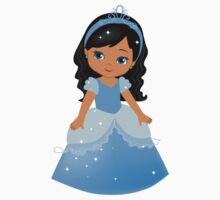 African American  Princess Cinderella Kids Clothes