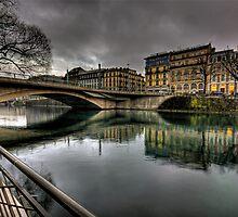 Pont de la Coulouvrenière by David Freeman