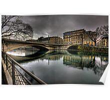Pont de la Coulouvrenière Poster