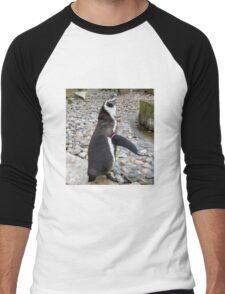 Humboldt Penguin Men's Baseball ¾ T-Shirt