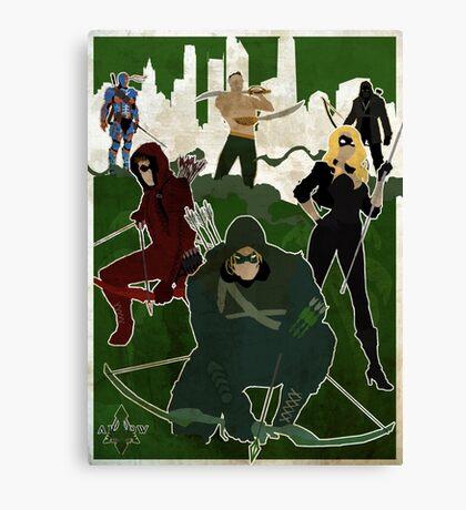 The Arrow ! Canvas Print
