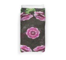 Rosas Moradas 2 Kaleidoscope 3 Duvet Cover
