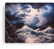 Sea Storm Canvas Print