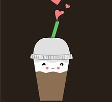 Iced coffee Love by CateLE