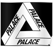 Palace Skateboards Tri Ferg White Poster