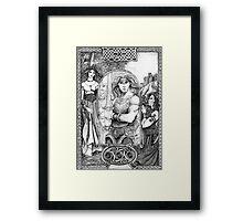 Celtic Warrior Framed Print