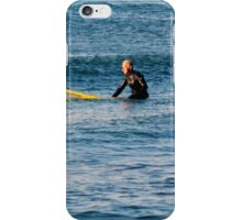Waiting for the Perfect Wave...... iPhone Case/Skin