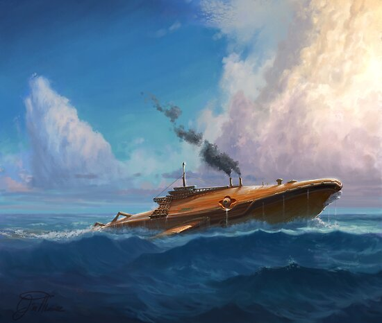 Whale Sub by Jim Moore