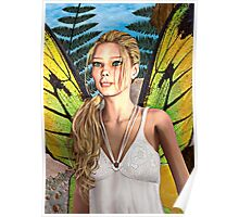 Fairy Butterfly Poster