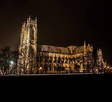 Beverley minster at night by chirs1990