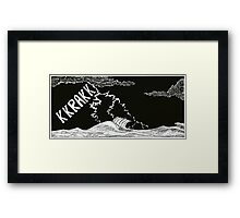 "Vikings  ""the storm"" Framed Print"