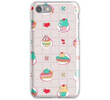 Cakes and cupcakes - bright iPhone Case/Skin