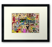 Harlem shake- Not for Children Framed Print
