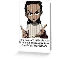 Cheddar Biscuits Greeting Card