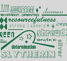 Slytherin by husavendaczek