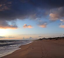 The Beach at Faro by Steve Woods