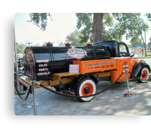 St. Paul Minnesota ~VINTAGE~ Harley Davidson Truck Canvas Print