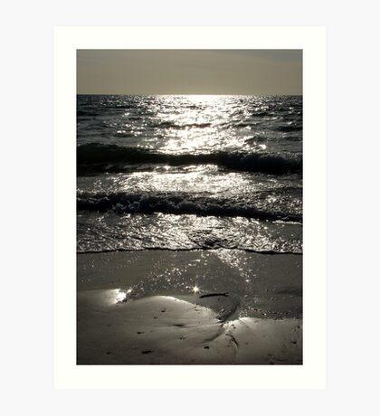 Sea Layers Art Print
