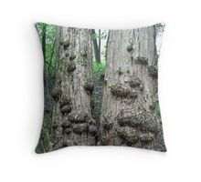 Twin Trees with Galls-CANCER don't you see? Throw Pillow