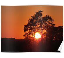 February 19 2015 Sunset Poster