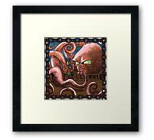 Kraken Jokes Framed Print